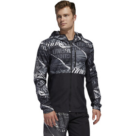 adidas OWN The Run Chaqueta Hombre, black/grey one/grey six
